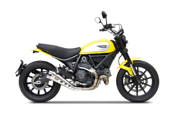 Zard Low Mounted Slip-On Exhaust 2015+ Ducati Scrambler