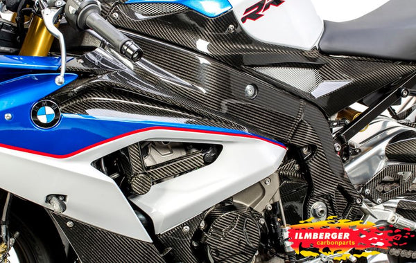 ILMBERGER Carbon Fiber Frame Cover (Left) 2015-2016 BMW S1000RR