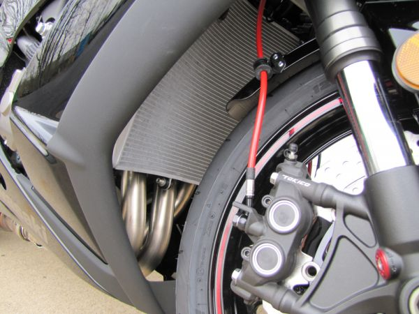 Spiegler Stainless Steel Front & Rear Brake Lines Kit for 2011-2013  Kawasaki ZX10R ABS