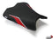 LuiMoto Team Kawasaki Seat Cover 2009-2011 Kawasaki ZX6R - Cf Black/SP Black/Red