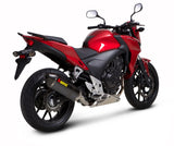 Akrapovic Slip-On Line (Carbon) EC Type Approval Exhaust System for 2013-2015 Honda CBR500R, CB500F/X