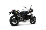 Akrapovic Slip-On Line (Carbon) Exhaust System 2011-2015 Triumph Speed Triple / R 1050