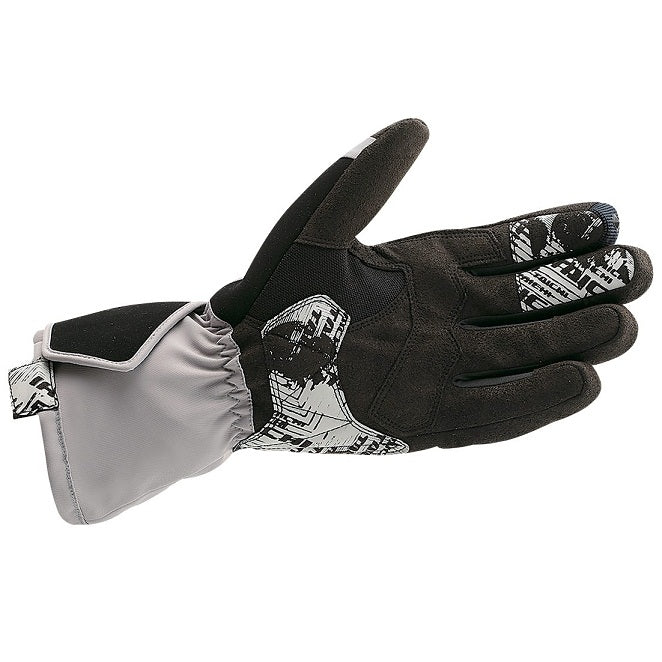 Gray Gloves Shown