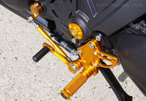 Sato Racing Adjustable Rearsets Ducati Diavel