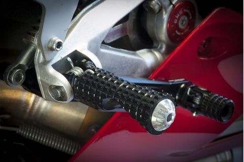CNC Racing Rider Footpegs for Stock Rearsets Ducati & MV Agusta