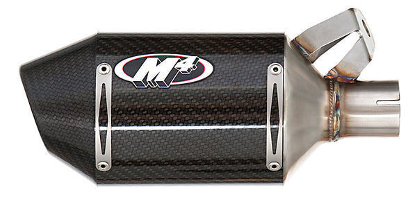 M4 Street Slayer Carbon Slip On Exhaust System '06-'20 Yamaha R6