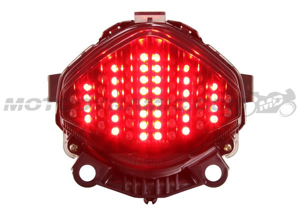 Motodynamic Sequential LED Tail Light for 2013-2014 Honda CBR500R / CB500 / CB500F