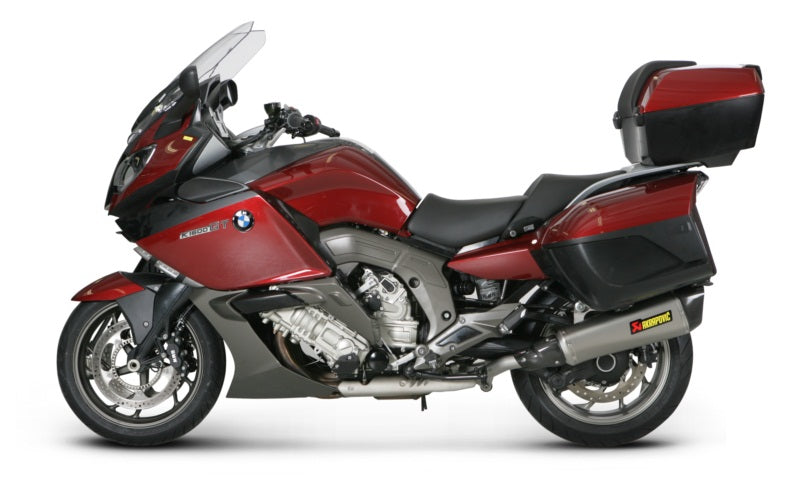 Akrapovic Slip-On Line (Titanium) EC Type Approval Exhaust Systems For 2011-2015 BMW K1600GT/GTL