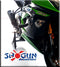 Shogun No Cut Complete Frame Slider Kit For 2013-2015 Kawasaki ZX6R 636