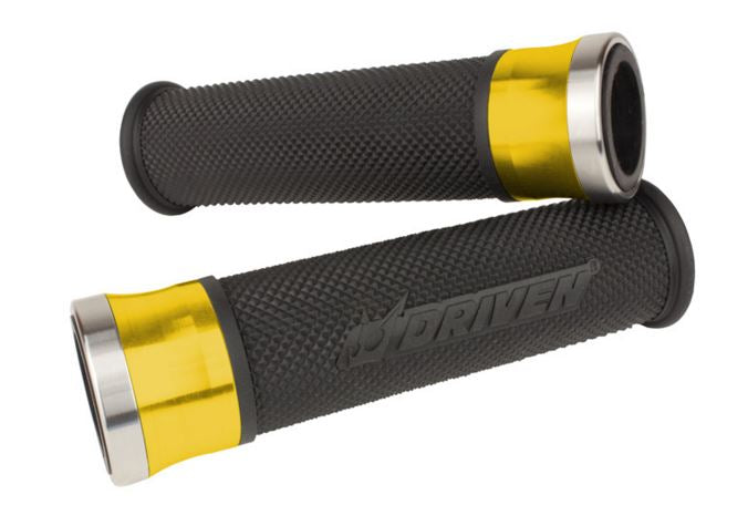 Driven Racing HALO Stainless Steel Grips