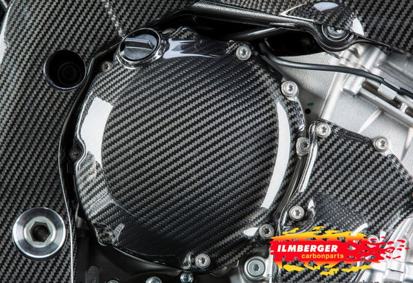 ILMBERGER Carbon Fiber Engine Cover (Clutch) '09-'16 BMW S1000RR/HP4, '14-'16 S1000R