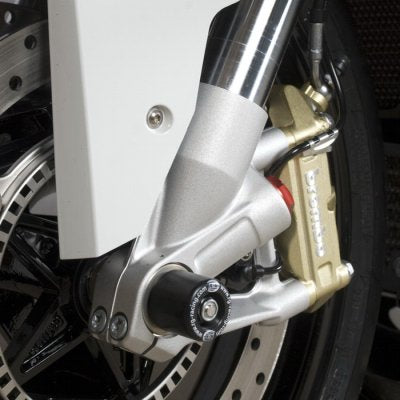 R&G Racing Front Fork Sliders/Spindle Bobbins For '10-'14 BMW S1000RR/HP4, '14-'15 S1000R