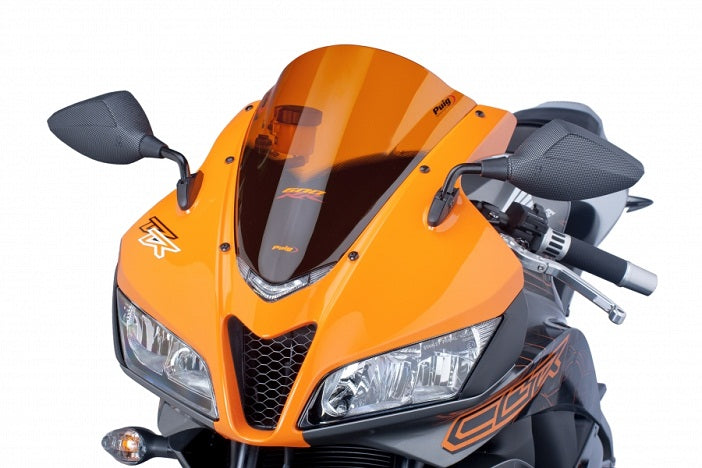 Puig Racing Windscreen for 2007-2012 Honda CBR600RR - Orange