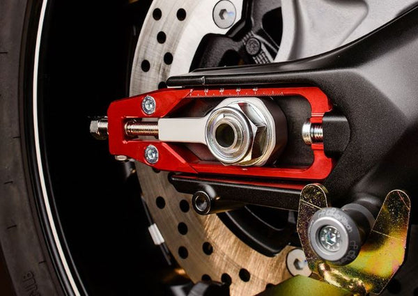 Lightech Chain Adjuster for '13-'16 Yamaha FZ-09 / MT-09, '15-'17 FJ-09 / MT-09 Tracer, '16-'17 XSR900