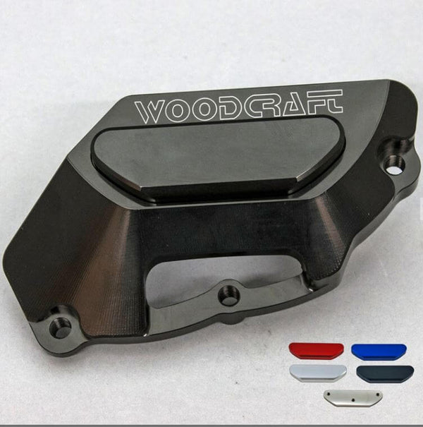 WoodCraft LHS Engine Cover (Stator) '09-'17 Aprilia RSV4