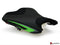 LuiMoto Team Kawasaki Seat Cover for 2013-2015 Kawasaki ZX-6R 636 - Suede/Cf Black/Lime Green