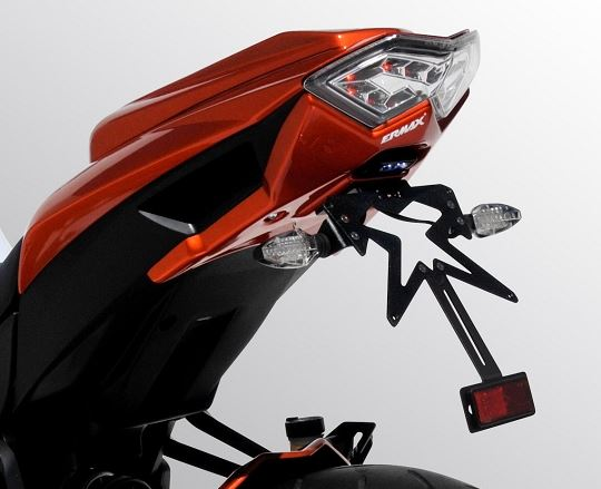 Ermax License Plate Holder For 2010-2013 Kawasaki Z1000