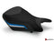 LuiMoto Technik Edition Seat Cover 2012-2014 BMW S1000RR - Cf Black/Black/Blue