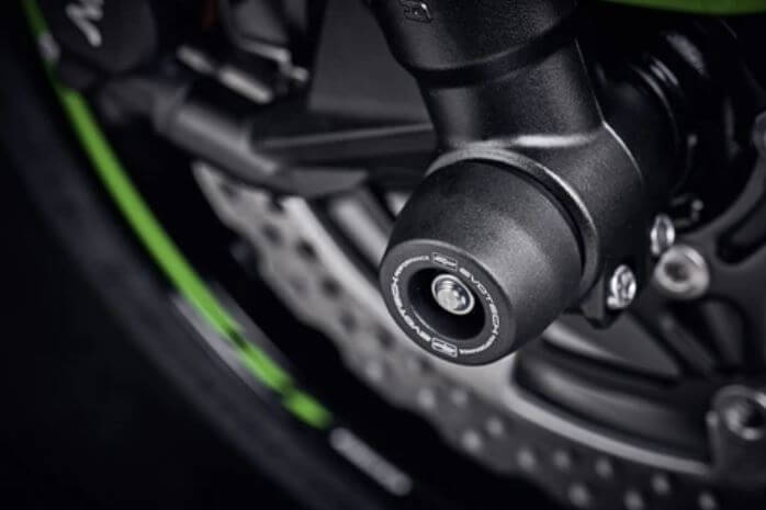 Evotech Performance Front Axle Sliders/Spindle Bobbins '19-'20 ZX-6R