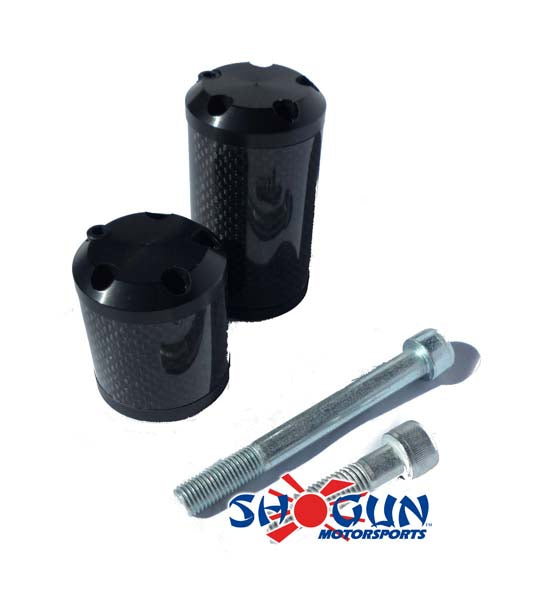Shogun Carbon S5 Frame Sliders for 2009-2012 Honda CBR600RR