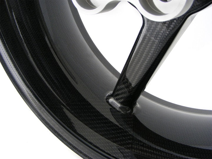 BST Carbon Fiber Rear Wheel for 2009-2013 Aprilia RSV4, APRC, RSV4R Factory