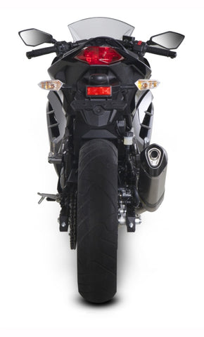 Akrapovic Slip-On Line (Carbon) Exhaust System for 2013-2017 Kawasaki Ninja 250/300, Z300