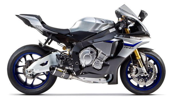 Two Brothers S1R Carbon Slip-On Exhaust System for 2015+ Yamaha R1/R1M [005-4260405-S1]