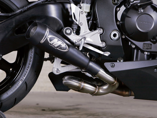 M4 GP Black Slip-on Exhaust System '08-'16 Honda CBR1000RR