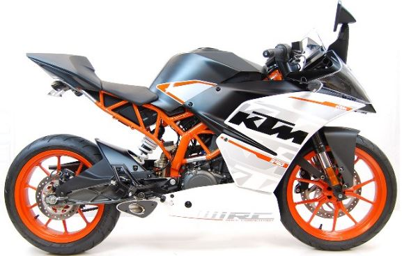 Competition Werkes GP Stainless Steel Slip-on Exhaust 2015-2016 KTM 390 Duke / RC 390