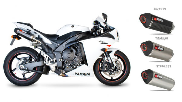 Scorpion Serket Parallel Slip-on Exhaust Systems for '09-'14 Yamaha R1