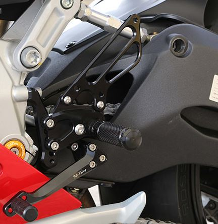 Sato Racing Adjustable Rearsets Ducati 899 / 1199 Panigale