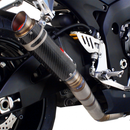 Scorpion RP-1 GP Slip-on Exhaust System 06-07 Suzuki GSX-R 600/750 - Carbon