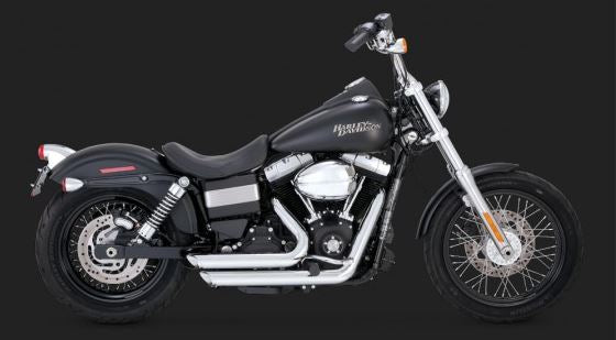 Vance & Hines Shortshots Staggered Full Exhaust System '12-'15 Harley-Davidson Dyna [17227 / 47227]