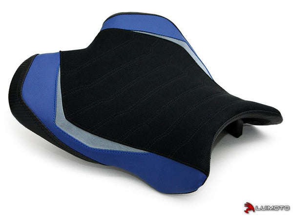 LuiMoto Team Yamaha Rider Seat Covers for 2015 Yamaha R1/R1M