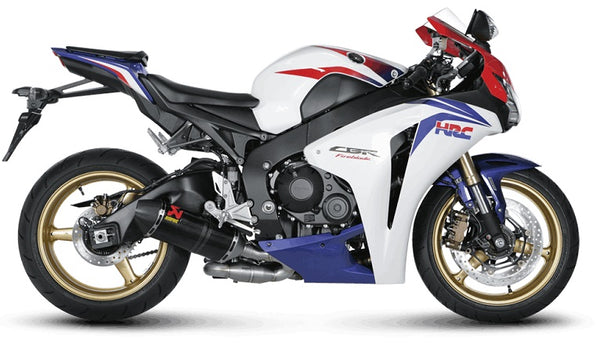 Akrapovic Slip On Line (Carbon) Open Exhaust System For 2008-2013 Honda CBR1000RR / ABS