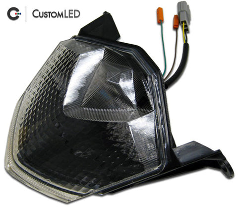 Custom LED Blaster-X Integrated LED Tail Light - Complete Unit '09-'12 Kawasaki ZX6R, '08-'10 ZX10R