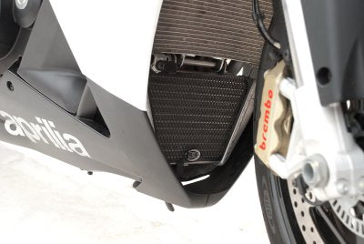 R&G Racing Oil Cooler Guard for 2009-2012 Aprilia RSV4 / R / APRC, 2011-2012 Tuono V4