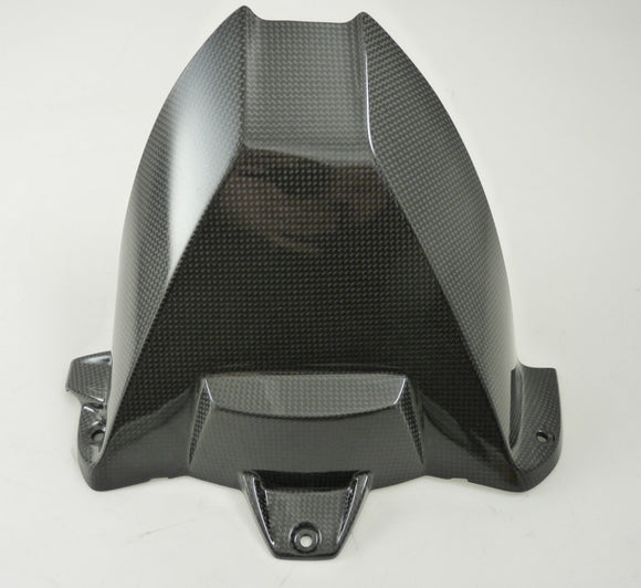 FullSix Elite Series Carbon Fiber Rear Hugger without Hole 2009-2014 BMW S1000RR/HP4