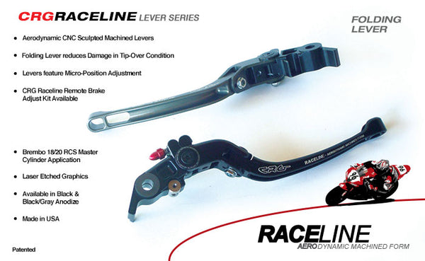 CRG Raceline Folding Brake & Clutch Lever Sets