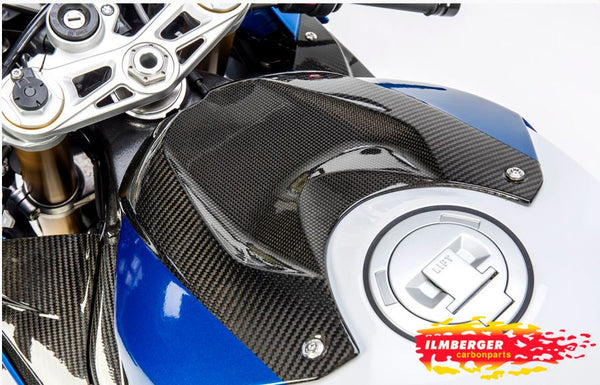 Ilmberger Carbon Fiber Tank Cover '15-'16 BMW S1000RR, '13-'16 S1000R