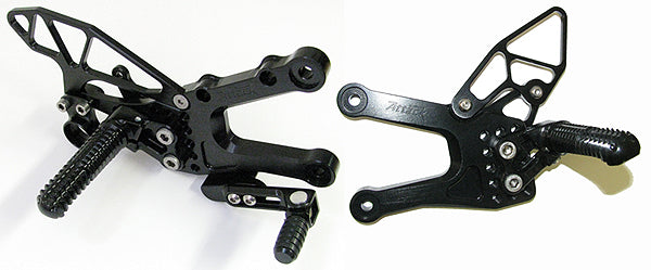 Attack Performance Adjustable Rearsets for 2006-2015 Yamaha R6