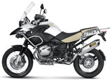 Akrapovic Slip-On Line (Titanium) EC Type Approval Exhaust System for 2011-2012 BMW R1200GS