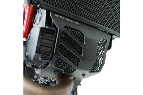 Evotech Performance Radiator Guard & Engine Guard Set For 2013-2014 Hypermotard / Hyperstrada 821