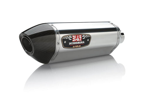 Yoshimura R77 Stainless Steel Full Exhaust Systems 2014-2017 Yamaha FZ-09 / MT-09