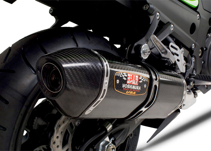Yoshimura Race R-77 Stainless/Carbon Full Exhaust System '06-'13 Kawasaki ZX14R