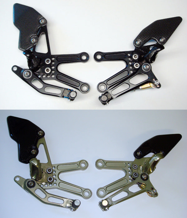 Attack Performance Adjustable Rearsets for 2006-2013 Kawasaki ZX10R