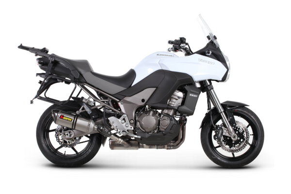 Akrapovic Slip-On Line EC Type Approval Exhaust System 2012-2014 Kawasaki Versys 1000