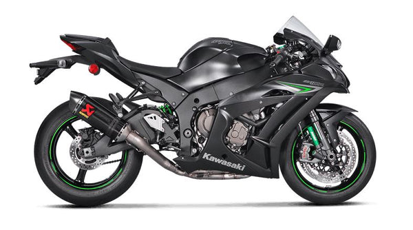 Akrapovic Evolution Line (Carbon) Full Exhaust System '16-'20 Kawasaki Ninja ZX10R