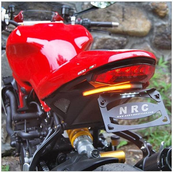 New Rage Cycles Standard Fender Eliminator Kit for 2016+ Ducati Monster 1200 R