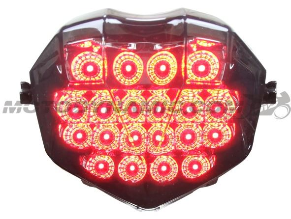 Motodynamic Sequential LED Tail Light '13-'20 Triumph Daytona 675/Moto2, '13-'20 Street Triple